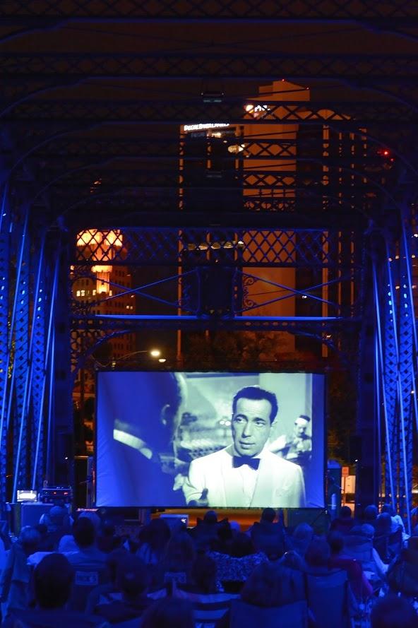 Outdoor Event Casablanca Movie Night