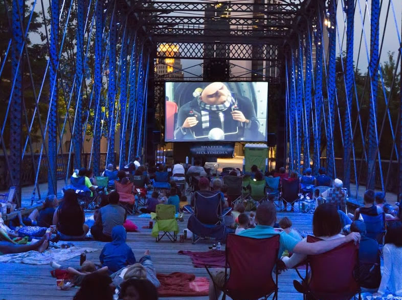 Outdoor Video Showings