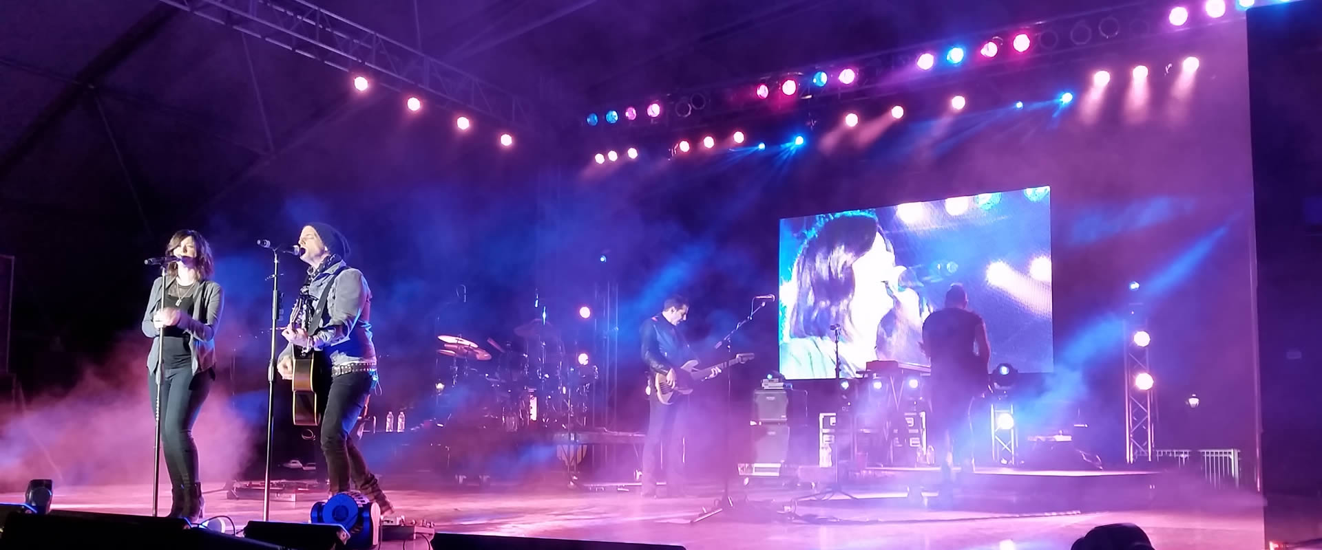 Music Festivals Lighting and Staging